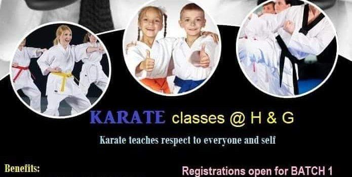 Karate workshop at Hansel and Gretel kids