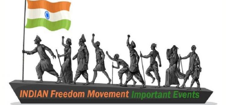 Unveiling the Event Map on Indian Freedom Movement