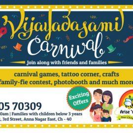 Vijayadasami Carnival at Arise 'n' Shine