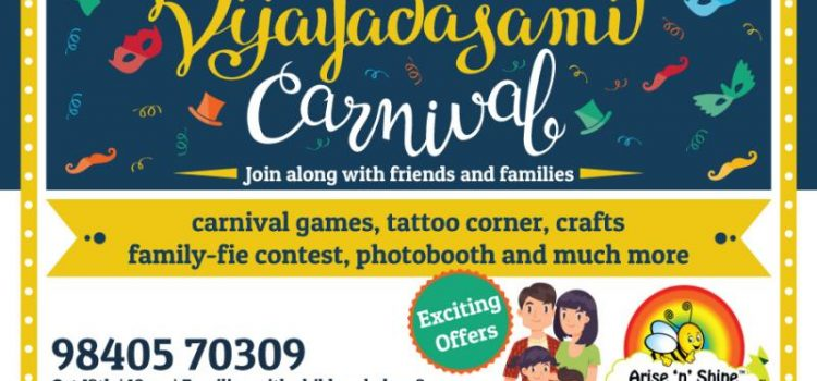 Vijayadasami Carnival at Arise 'n' Shine