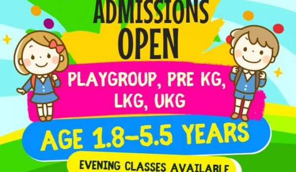 Charmville Preschool VIJAYADASHAMI ADMISSIONS OPEN FOR 2018