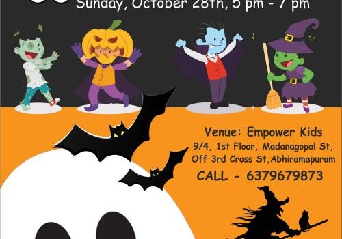 Halloween Party at Empower Kids – SEASON 2