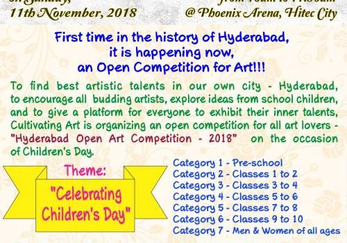 Hyderabad Open Art Competition 2018