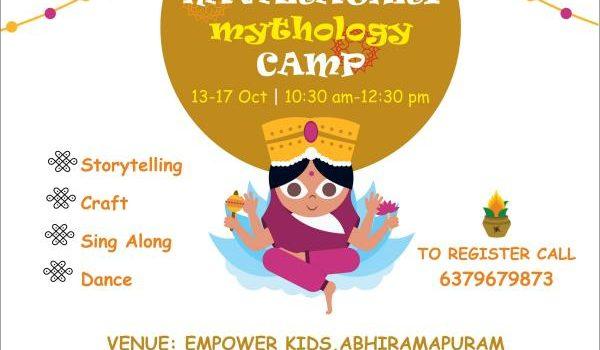 Navarathri Camp at Empower Kids