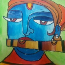 Children Art Gallery 8 : K.S.Akshadha Radha