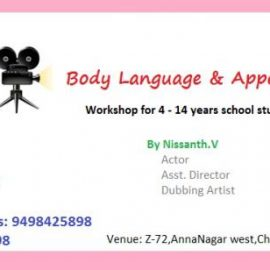 Body Language & Appearance Workshop for 4 to 14 years