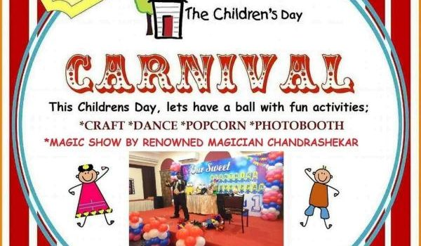Children's day celebration at Hansel and Gretel kids