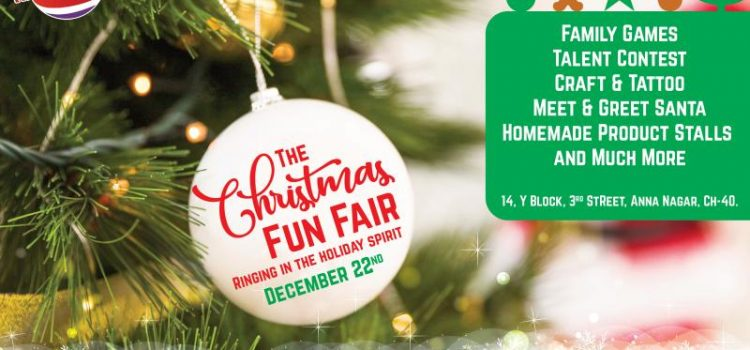 Christmas Fun Fair Event at Arise 'n' Shine