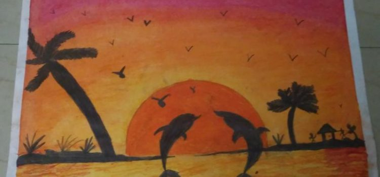 Children Art Gallery 16 : G.Siva Bhargavi