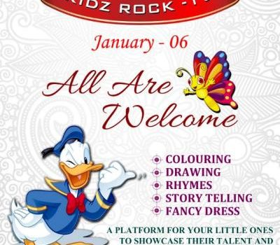 Kidz Rock -19 Competitions for Kids