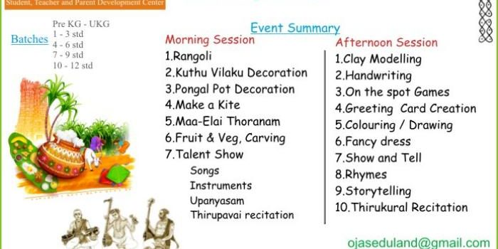 Kids Margazhi Fest on  6th Jan 2019, Sunday