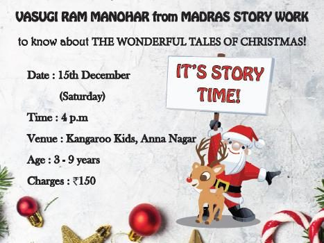 The Wonderful Tales of Christmas Story Telling Session