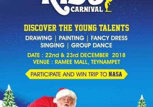 Events Walk | Winter Kids Carnival at Ramee Mall, Teynampet