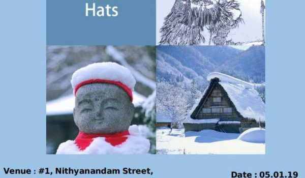 THE JIZO'S HATS ON 05.01.19 Weekend Storytelling Session