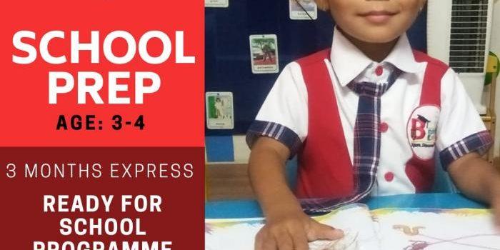 SCHOOL PREP PROGRAMME at Brainekids