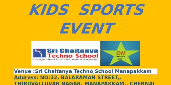 Kids Sports Carnival- DN Creative Kids