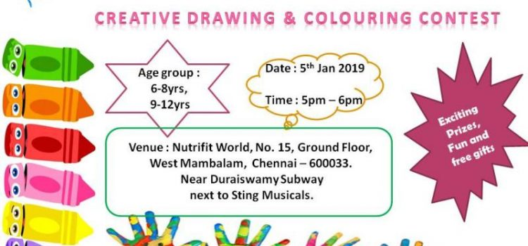 Drawing & painting contest on Saturday, 5.01.2019