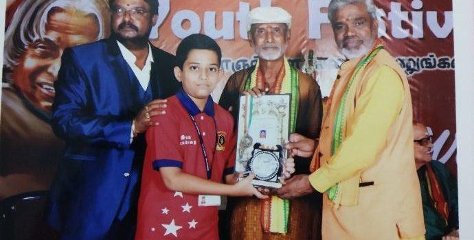 Varun Gopalan, 11 year old Multi Talented Kid