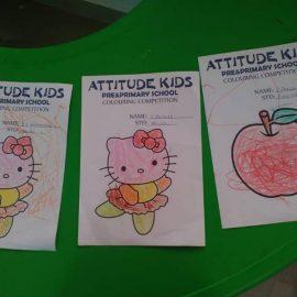 ATTITUDE KIDS Inter School Competition Vandoos Corner