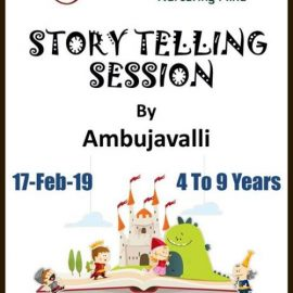 Story Telling Session by Blossom on Feb 17, 2019