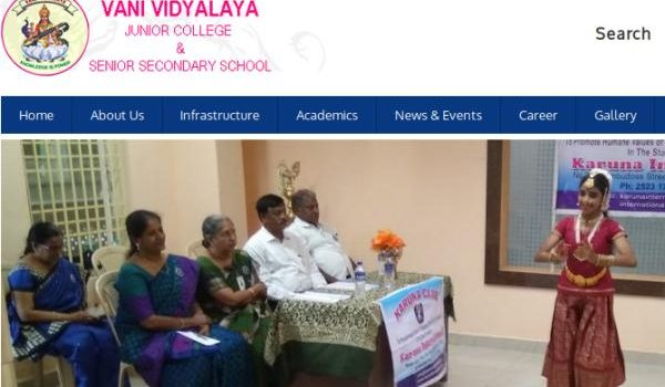 Vani Vidyalaya Sr.Sec.School, West KK Nagar Admission 2019-20