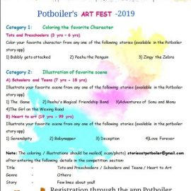 Potboiler's Art and Story Fest-2019!!