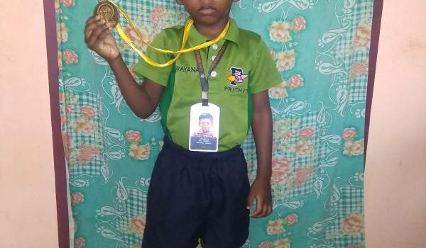 R. Jashwanth : 4 Year Old Talented Story Teller & Artist