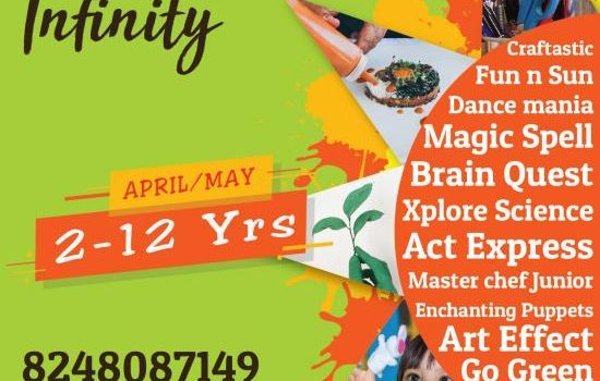 ARISE 'n' SHINE PRESENTS CAMP INFINITY – SUMMER CAMP FOR KIDS