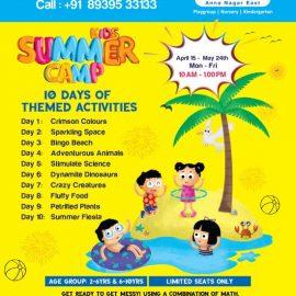 Summer Camp at Little Millennium AnnaNagar East