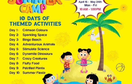 Summer Camp at Little Millennium AnnaNagar East