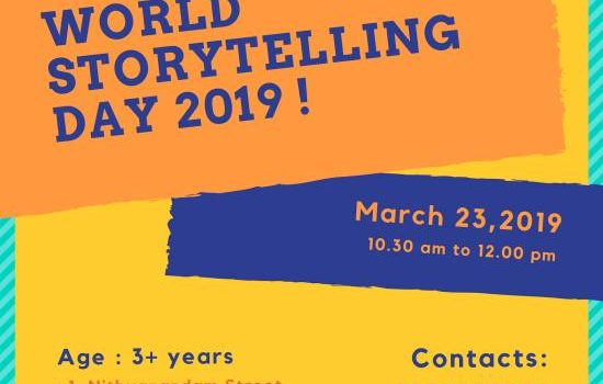WSD Special Weekend Storytelling Session