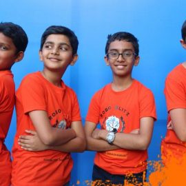 India's Largest Summer Camp on Robotics for kids