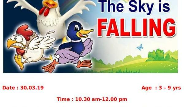 30.03.19 – The Sky is Falling in Weekend Storytelling Session
