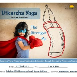 ART Excel / Utkarsha Yoga Summer Program 2019