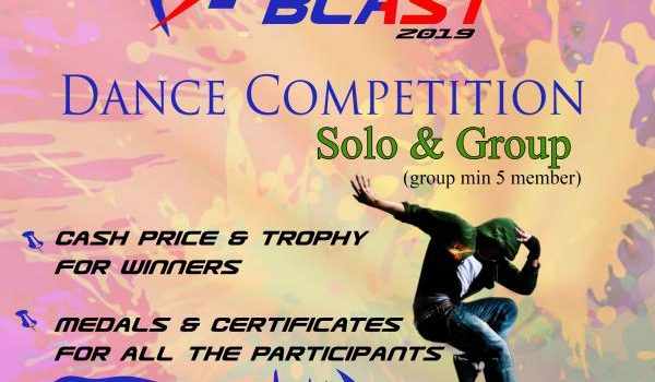 Dance Competition for School Children on April 20, 2019
