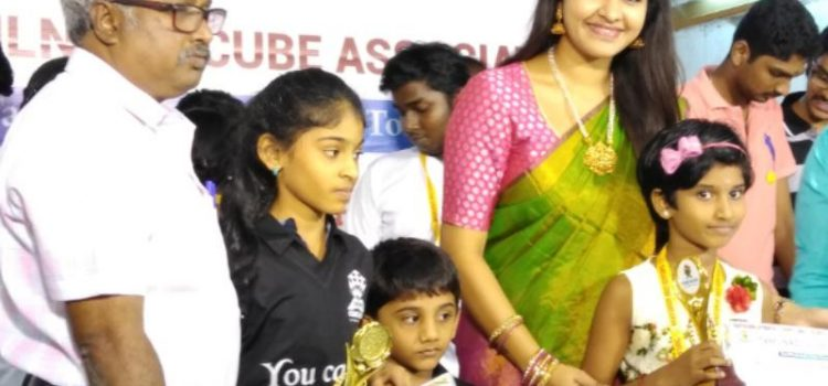 Ilakkya Srikanth : Youngest Speed cuber to obtain world ranking in 3 competition