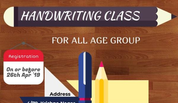 Summer Camp – Handwriting Classes at Mappedu (Selaiyur)