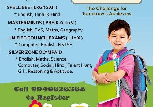 Talent Exams For All Ages for the Academic Year 2019-20