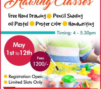 Summer Camp – Drawing & Painting Classes in Avadi, Chennai
