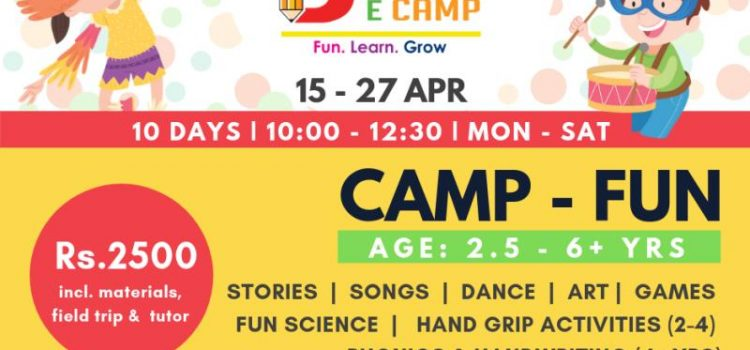 BRAINECAMP | MULTIPLE ACTIVITIES Summer Camp from April 15 to 27, 2019