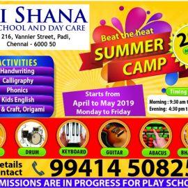 Beat The Heat Summer Camp by Sri Shana Play School and Daycare, Padi