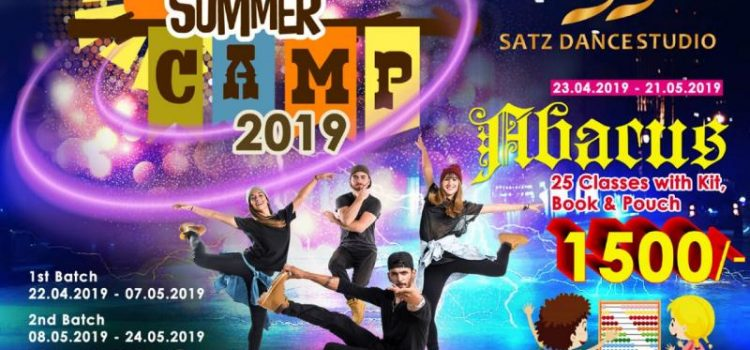 SATZ DANCE STUDIO Summer Camp for Dance and Abacus