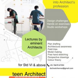Teen Architect|Architectural workshop For Teens
