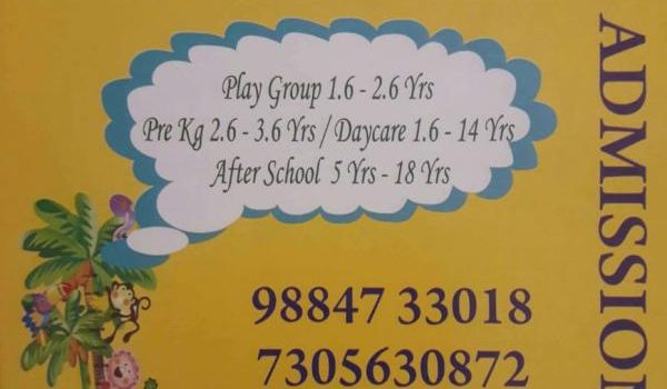 Admission Open for Play school Pre kg Day care After school at Kidee KlubHouse