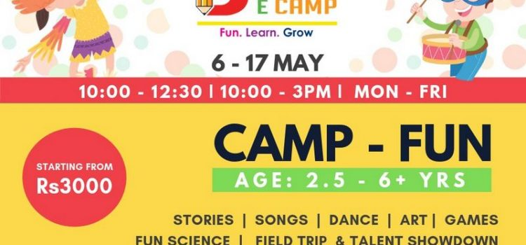 BRAINECAMP 2 from 6 May – 17 May, 2019
