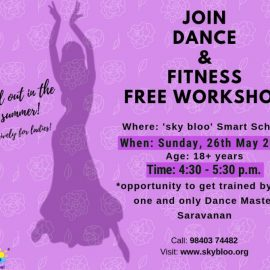 WORKSHOP ON DANCE & FITNESS