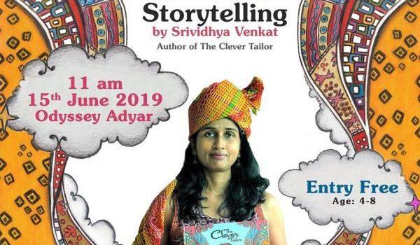 Story Telling by Srividhya Venkat at Odyssey, Adyar
