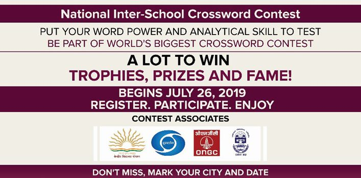 Cryptic Crossword Contest 2019 by Extra-C | National Level Competition