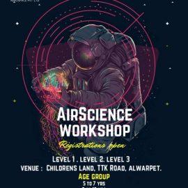 Air Science Workshop at TTK Road