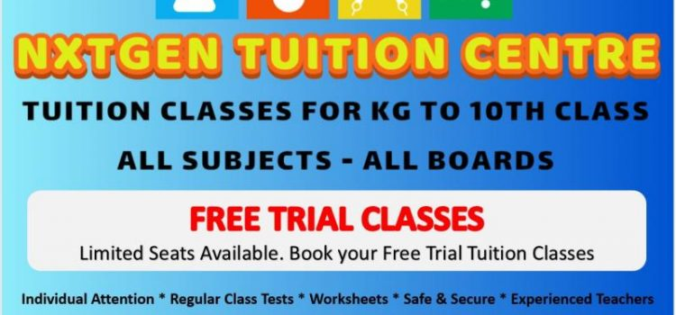 Classes for Kids – Free Trial Tuition Classes for School Students